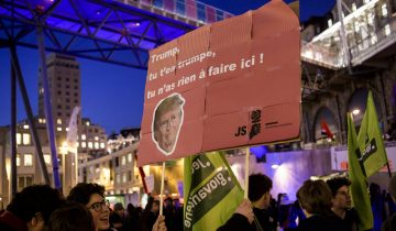 «Trump, you are not welcome» 2