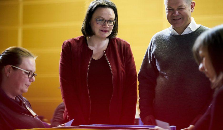 La nouvelle coalition avec Merkel approuvée par les membres du SPD — Allemagne