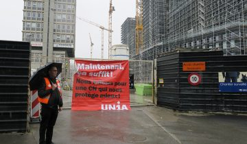 Les syndicats bloquent cinq chantiers