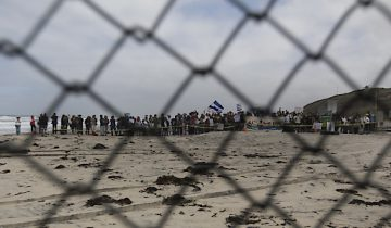 La caravane de migrants finit son périple à Tijuana