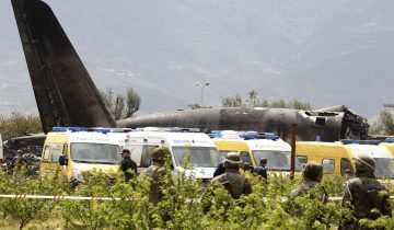 Plus de 250 morts dans un accident d'avion militaire