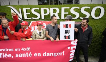 Manifestation anti «Nespression»