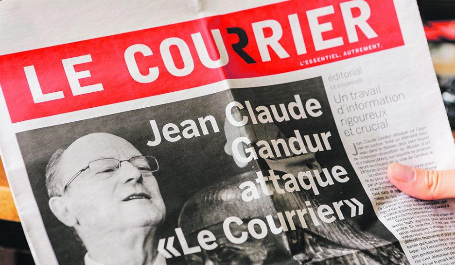 Gandur contre «Le Courrier»: en attente du verdict