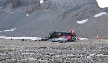 Un crash endeuille les Alpes