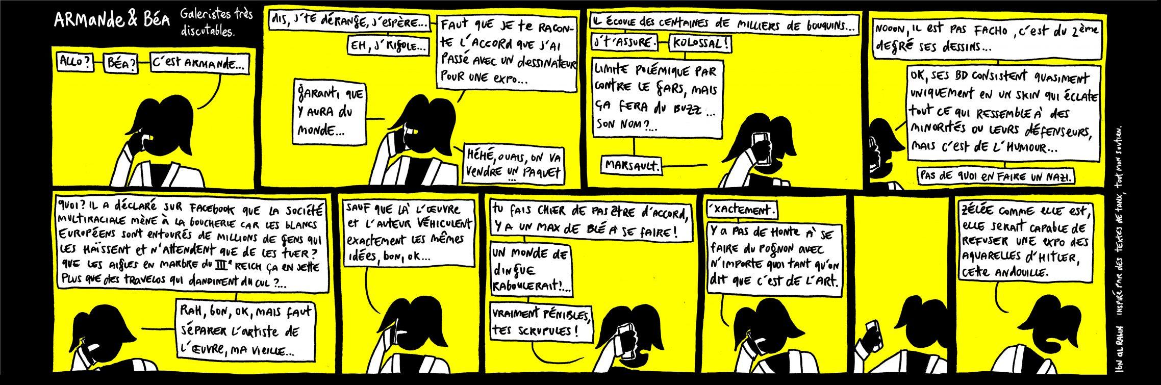 Galeristes très discutables