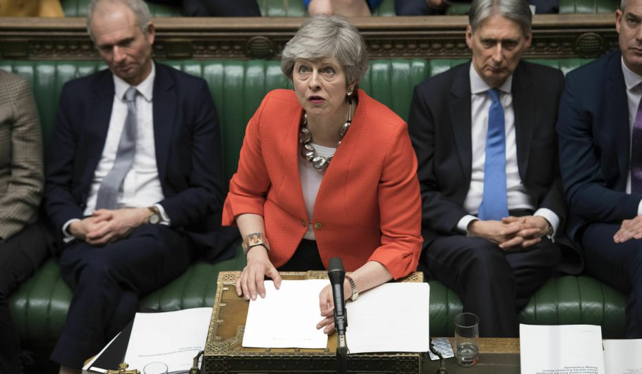 L'accord de Theresa May à nouveau rejeté