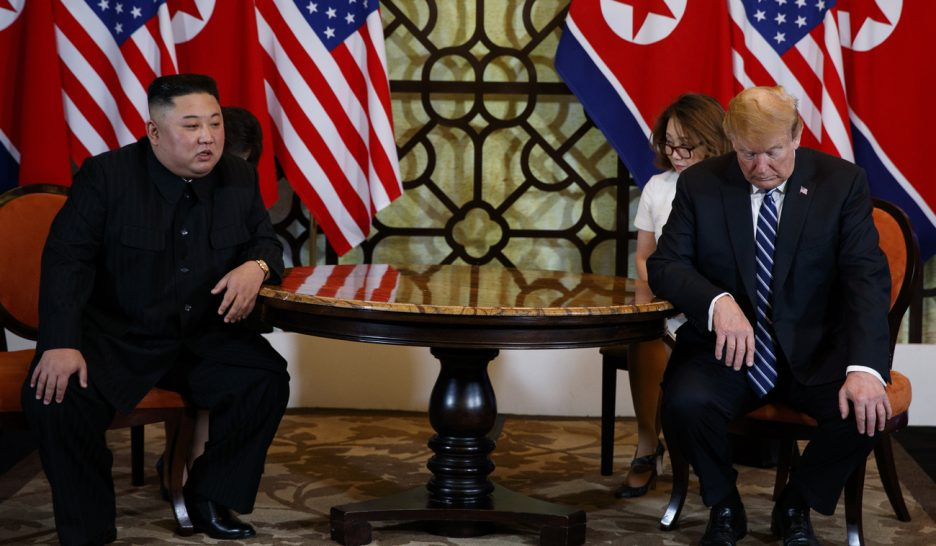 Trump et Kim se séparent sans accord