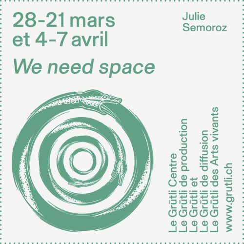 WE NEED SPACE du 25 mars au 7 avril 2019