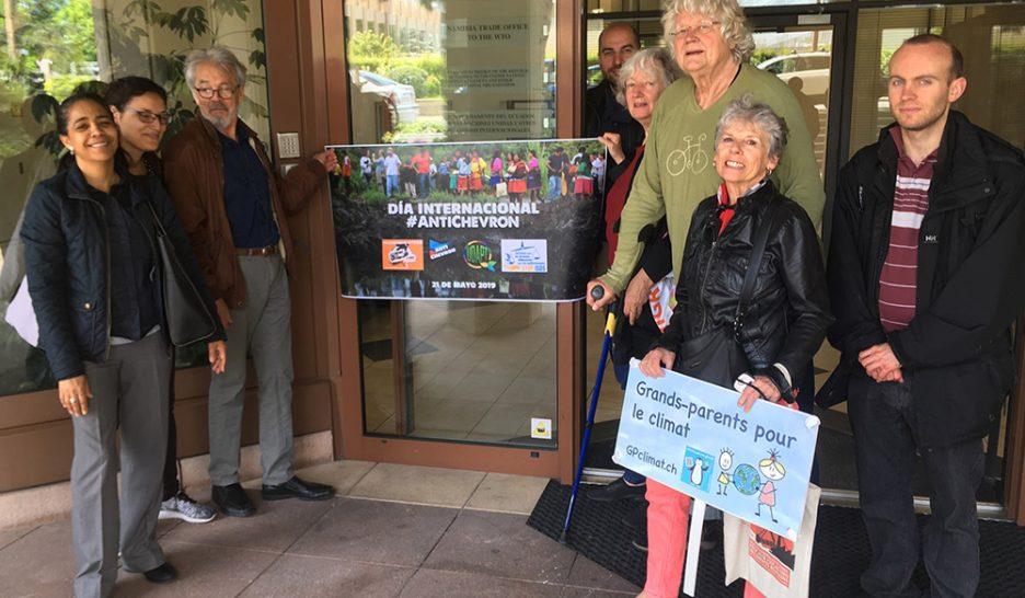 Appel international pour les victimes de Chevron