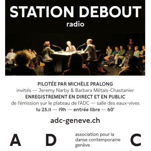 STATION DEBOUT du 21 au 25 nov. 2019