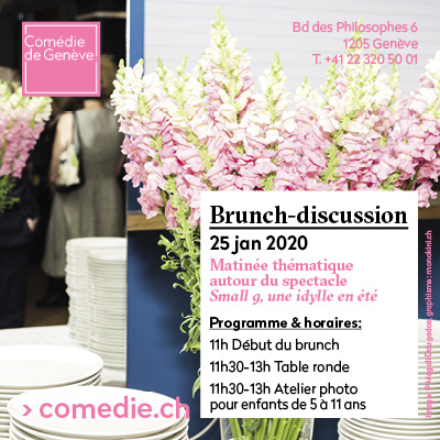 SMALL G - BRUNCH du 20 au 26 janvier 2020