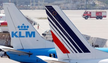 Air France lamine son personnel au sol