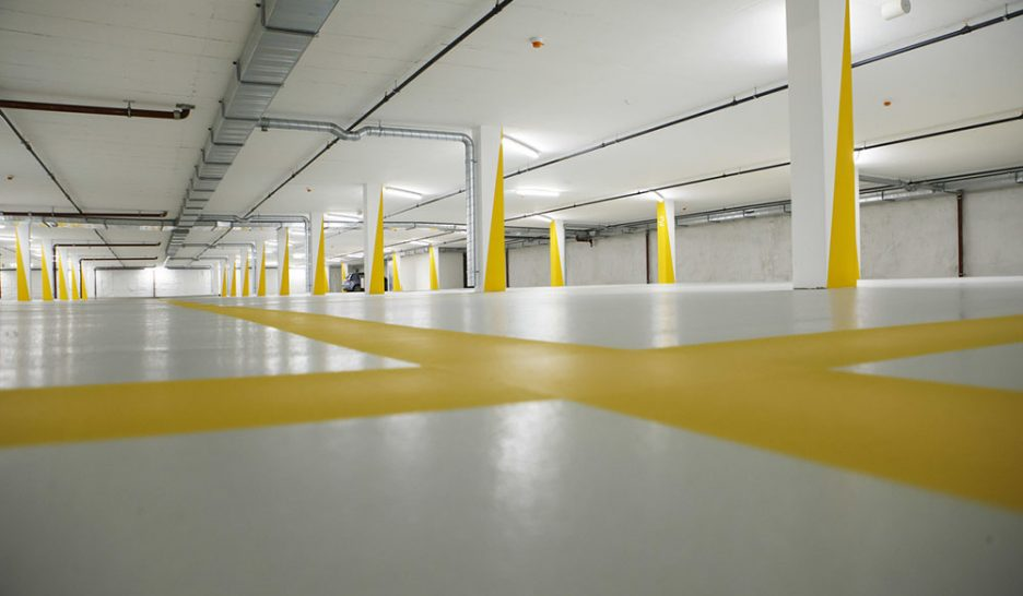Le peuple enterre le parking souterrain